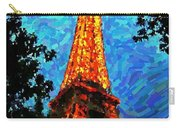 Eiffel Tower Impressionist Carry-all Pouch