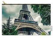 Eiffel Tower In Hdr Carry-all Pouch