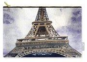 Eiffel Tower Paris Carry-all Pouch