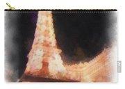 Eiffel Tower Paris Las Vegas Photo Art Carry-all Pouch