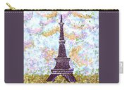 Eiffel Tower Pointillism Carry-all Pouch
