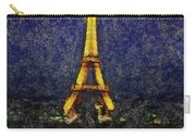 Eiffel Tower Sync Hp Carry-all Pouch