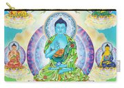 Eight Brothers Of The Medicine Buddha Carry-all Pouch