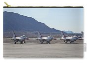Eight F-16 Thunderbird Falcon's On Static Display Nellis Carry-all Pouch