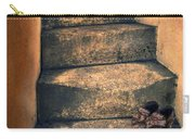 Eighteenth Century Shoes On Old Stairway Carry-all Pouch