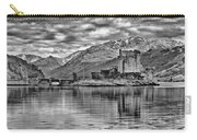 Eilean Donan - A Reflection Without Colour Carry-all Pouch