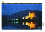 Eilean Donan At Night Carry-all Pouch