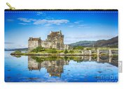Eilean Donan Castle Reflections 2 Carry-all Pouch
