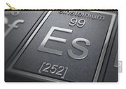 Einsteinium Chemical Element Carry-all Pouch