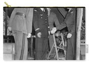Eisenhower Greets De Gaulle Carry-all Pouch