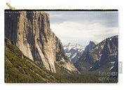 El Capitan And Half Dome Carry-all Pouch