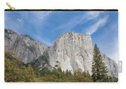 El Capitan And The Wall Of Granite Carry-all Pouch