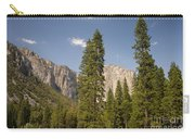 El Capitan And Yosemite Valley Carry-all Pouch