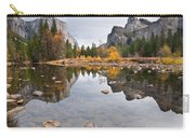 El Capitan Reflected In The Merced River Carry-all Pouch