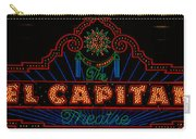 El Capitan Theatre Sign In Hollywood Carry-all Pouch