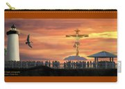 El Faro Christ Sunset Photo Illustration Carry-all Pouch