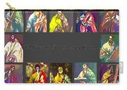 El Greco's Apostles Of Christ Carry-all Pouch by Barbara Griffin