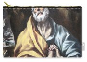 El Greco's The Repentant Saint Peter Carry-all Pouch