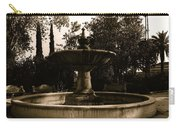 El Paso And Southwestern Rr Depot Fountain Tucson Arizona 1978 Carry-all Pouch