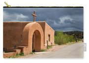 El Santuario De Chimayo Cross Carry-all Pouch