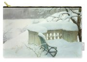 Elbpark In Hamburg Carry-all Pouch by Fritz Thaulow