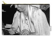 Eleanor Roosevelt Knitting Carry-all Pouch by Underwood Archives