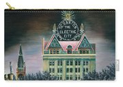 Electric City At Night Carry-all Pouch