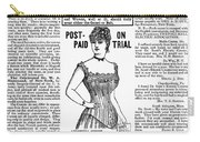Electric Corset, 1887 Carry-all Pouch