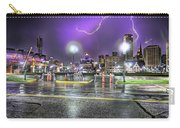 Electric Detroit  Carry-all Pouch by Nicholas  Grunas