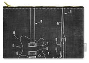 Electric Guitar Patent 039 Carry-all Pouch