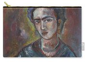 Electric Light Frida Carry-all Pouch