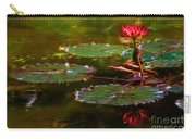 Electric Lily Pad Carry-all Pouch