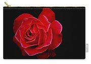 Electric Rose Carry-all Pouch