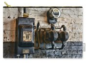 Electrical Energy Safety Switch Carry-all Pouch by Paul Ward