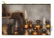 Electrician - A Collection Of Oil Lanterns  Carry-all Pouch by Mike Savad