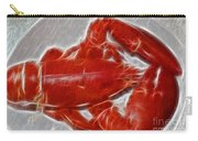 Electrostatic Lobster Carry-all Pouch