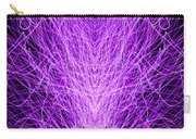 Electrostatic Purple Carry-all Pouch