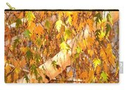 Elegant Autumn Branches Carry-all Pouch