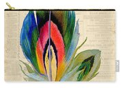 Elegant Feather-b Carry-all Pouch