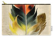 Elegant Feather-c Carry-all Pouch