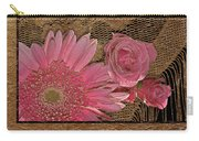 Elegant Gold Lace Carry-all Pouch