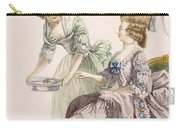 Elegant Lady Having Her Feet Washed Carry-all Pouch