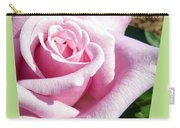 Elegant Royal Kate Rose Carry-all Pouch by Will Borden