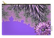 Elegant Tentacles Purple And Lilac Carry-all Pouch