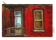 Elegant Victorian Beauty By Carole Spandau Montreal Memories Painter -art Historian Montreal Carry-all Pouch