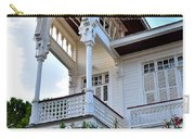Elegant White House And Balcony Carry-all Pouch