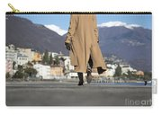 Elegant Woman Walking Carry-all Pouch