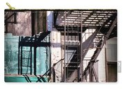 Elemental City - Fire Escape Graffiti Brownstone Carry-all Pouch