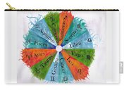 Elements With Zodiac Signs Carry-all Pouch
