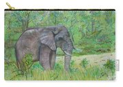 Elephant At Kruger Carry-all Pouch